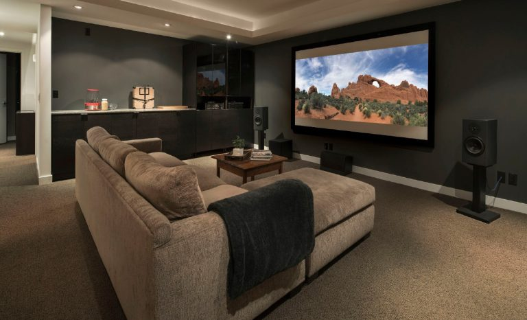 home theater How to Build a Home Theater in 5 Easy Steps! cover  768x466