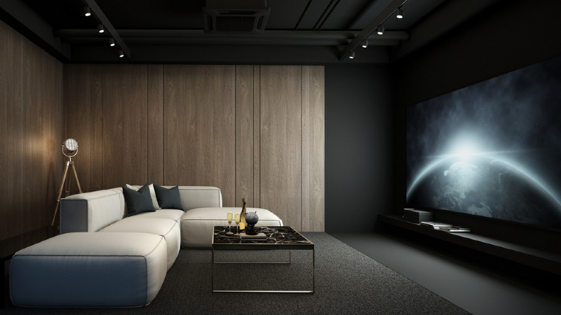 home theater How to Build a Home Theater in 5 Easy Steps! home cinema design