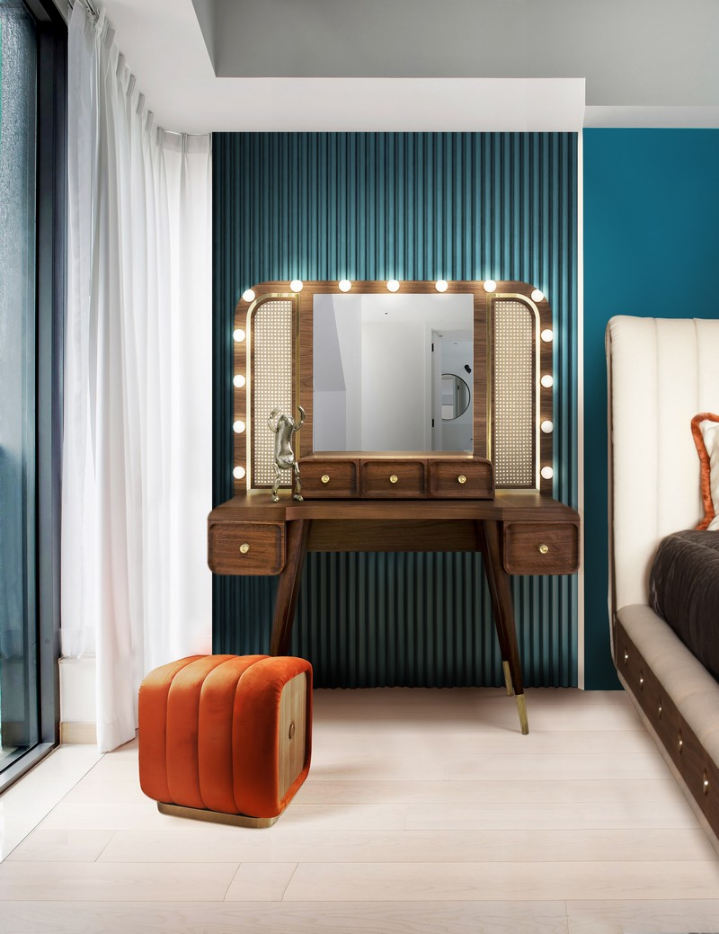 Beautiful Vanity Design Ideas To Improve Your Master Bedroom Suite