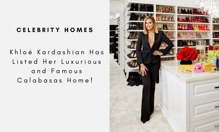 Khloé Kardashian Has Listed Her Luxurious and Famous Calabasas Home khloé kardashian Khloé Kardashian Has Listed Her Luxurious and Famous Calabasas Home Khlo   Kardashian Has Listed Her Luxurious and Famous Calabasas Home capa 2 768x466