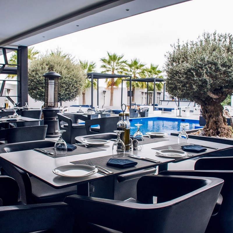 See The Trendy Mid-Century Modern Design Of The Famous Oliveto Restaurant & Lounge!