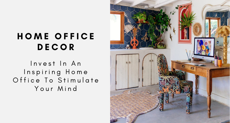 Invest In The Perfect Home Office Decor Right Now!
