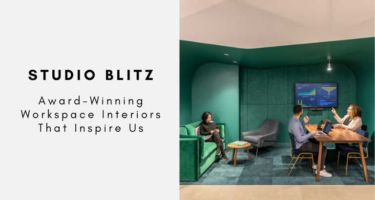 Studio Blitz_ Award-Winning Workspace Interiors That Inspire Us (1) workspace interiors Studio Blitz: Award-Winning Workspace Interiors That Inspire Us Studio Blitz  Award Winning Workspace Interiors That Inspire Us 1 768x410