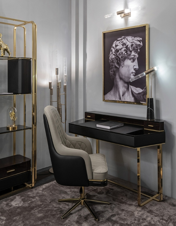 The 11 Luxury Desks That You'll Love In Your Home Office_3 luxury desks The 12 Luxury Desks That You'll Love In Your Home Office The 11 Luxury Desks That Youll Love In Your Home Office 3