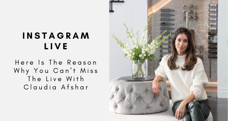 Here Is The Reason Why You Can't Miss The Live With Claudia Afshar claudia afshar Here Is The Reason Why You Can't Miss The Live Interview With Claudia Afshar! Here Is The Reason Why You Cant Miss The Live With Claudia Afshar 768x410