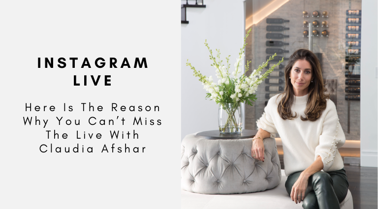 Here Is The Reason Why You Can't Miss The Live With Claudia Afshar claudia afshar Here Is The Reason Why You Can't Miss The Live Interview With Claudia Afshar! Here Is The Reason Why You Cant Miss The Live With Claudia Afshar