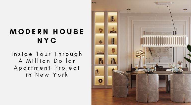 Inside Tour Through A Million Dollar Apartment Project in New York