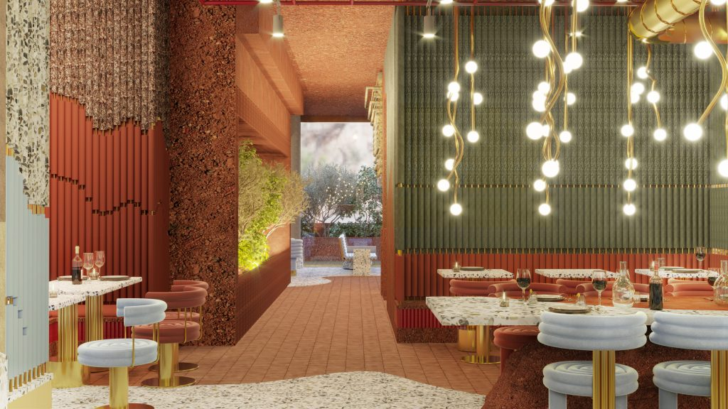Get Inside Masquespacio's New Restaurant Project and Steal Some Dining Room Décor Tips!_5