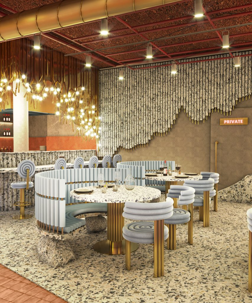 Get Inside Masquespacio's New Restaurant Project and Steal Some Dining Room Décor Tips!_6