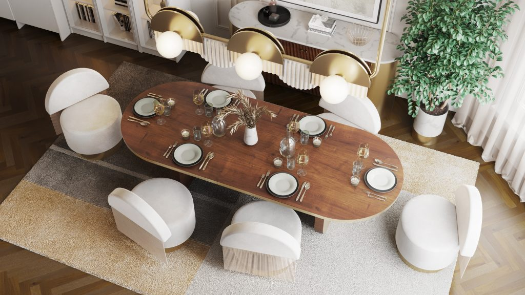 """This All-White Residential Project With """"Hollywood Glamour"""" Collection is Seriously Soothing! _2"""