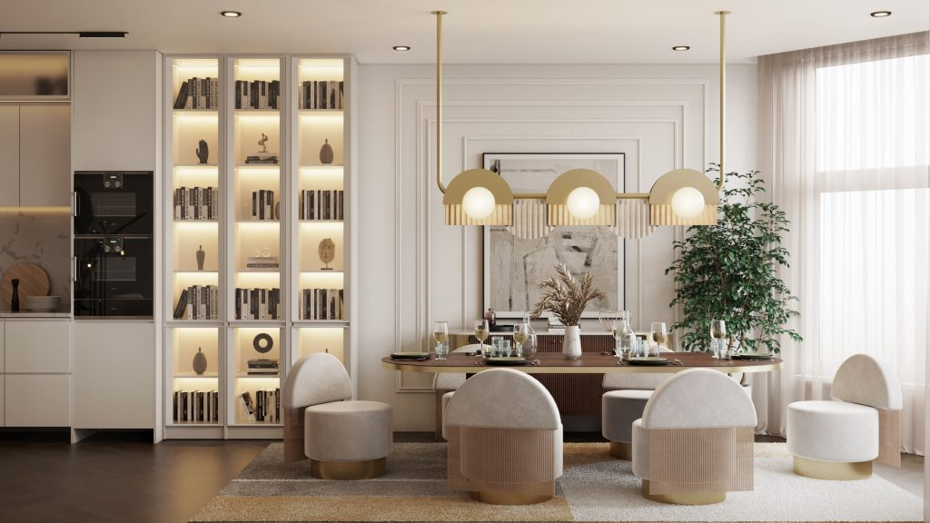 """This All-White Residential Project With """"Hollywood Glamour"""" Collection is Seriously Soothing! _3"""