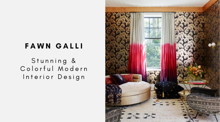 Fawn Galli Stunning & Colorful Modern Interior Design fawn galli Fawn Galli: Stunning & Colorful Modern Interior Design Fawn Galli Stunning Colorful Modern Interior Design