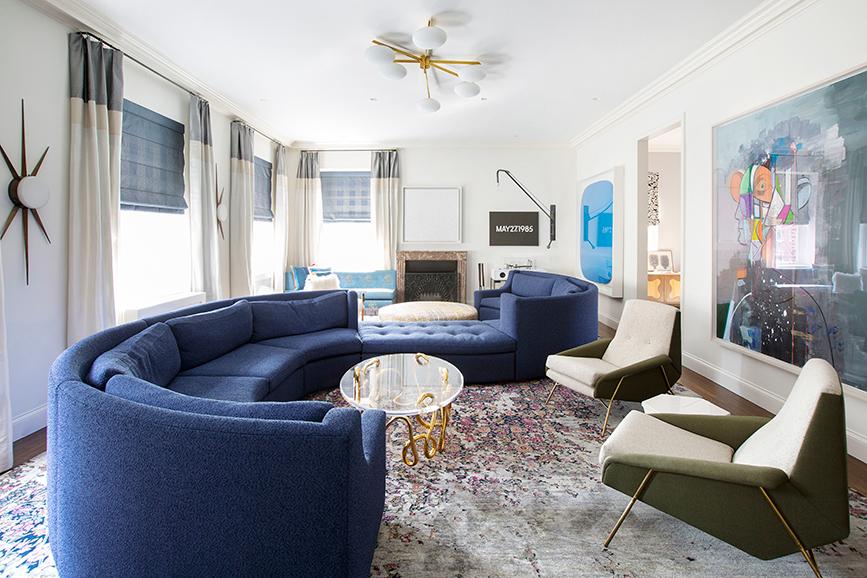 Fawn Galli Stunning & Colorful Modern Interior Design_3