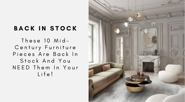 These 10 Mid-Century Furniture Pieces Are Back In Stock And You NEED Them In Your Life!