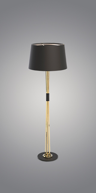 miles, floor lamp, lighting, mid century modern furniture, contemporary lighting, Essential Home, DelightFULL