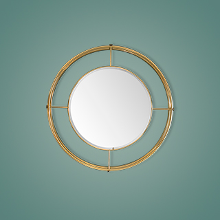 shirley, mirror, accessories, mid century furniture, mid century modern living room, mid century modern, Essential Home