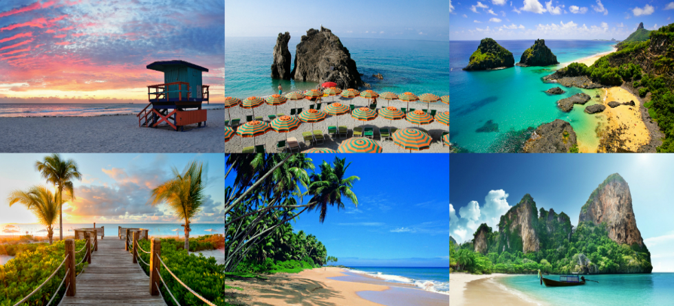 10 best beaches in the world beaches 10 BEST BEACHES IN THE WORLD collage 2