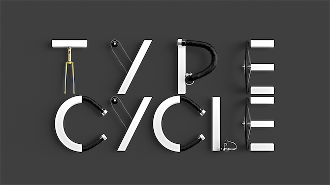 Typography ART: A Creative Typography by Marcel Piekarski POSTER 02 TYPE CYCLE 2 00000