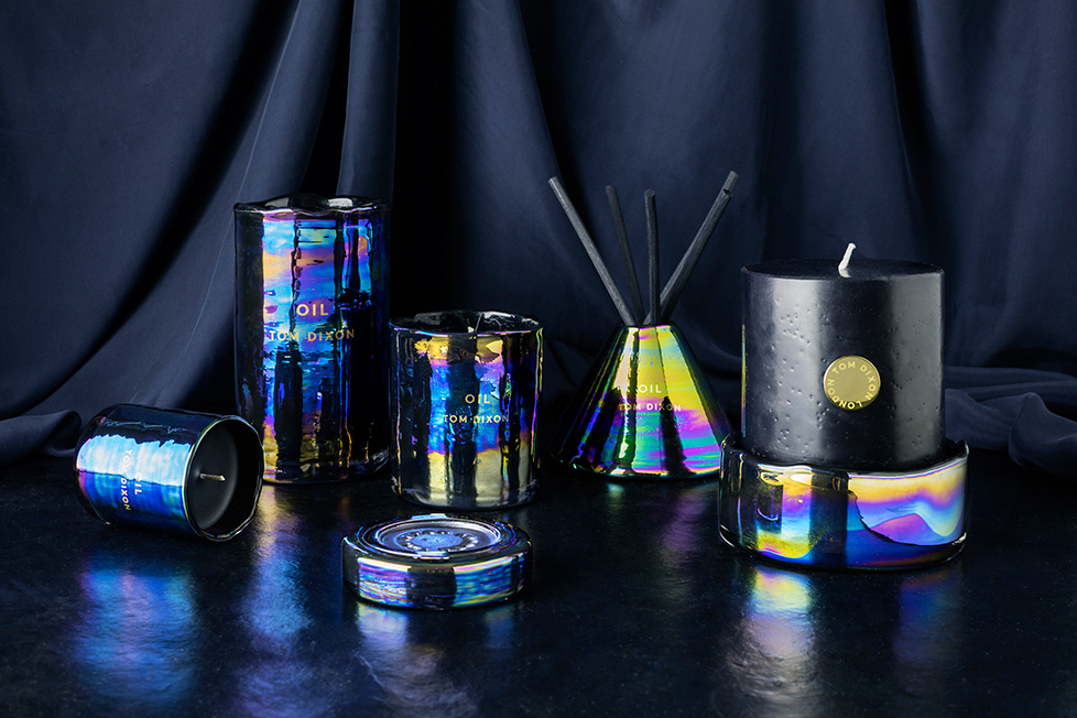 tom dixon Materialism Collection candles by Tom Dixon TD Accessories June 16 1138