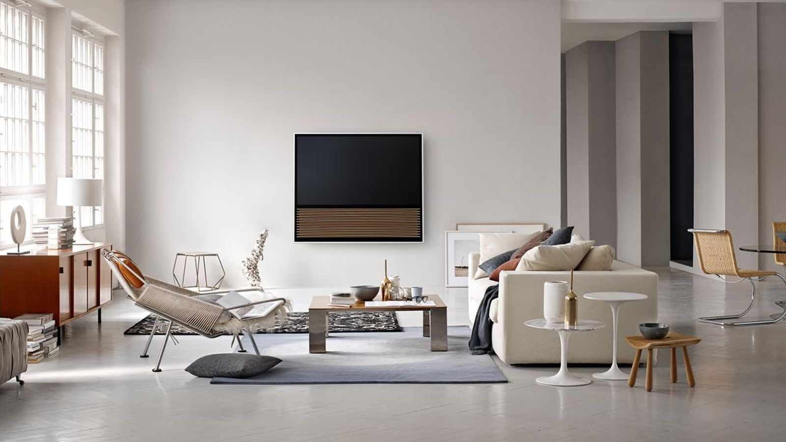 beovision14-television television Bang & Olufsen revamps television as decor centerpiece beovision14 television