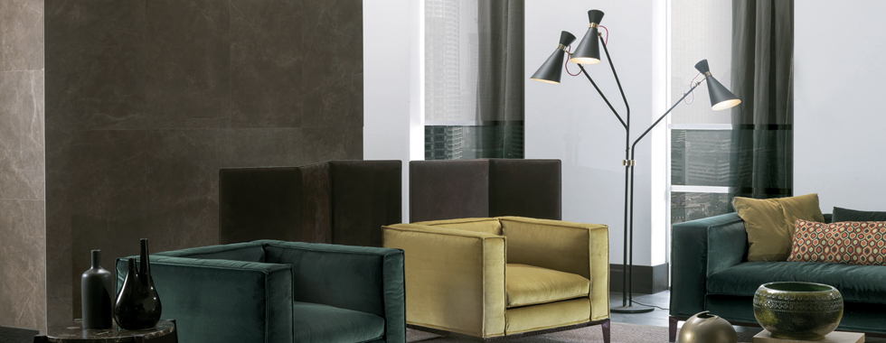 Armchair 5 Cozy Modern Armchairs for your Living Room slide frigerio project simone standing lamp delightfull unique lamps