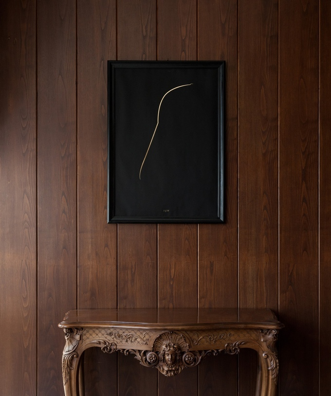 the thin gold line The Thin Gold Line – Minimal Luxury Posters 2 1
