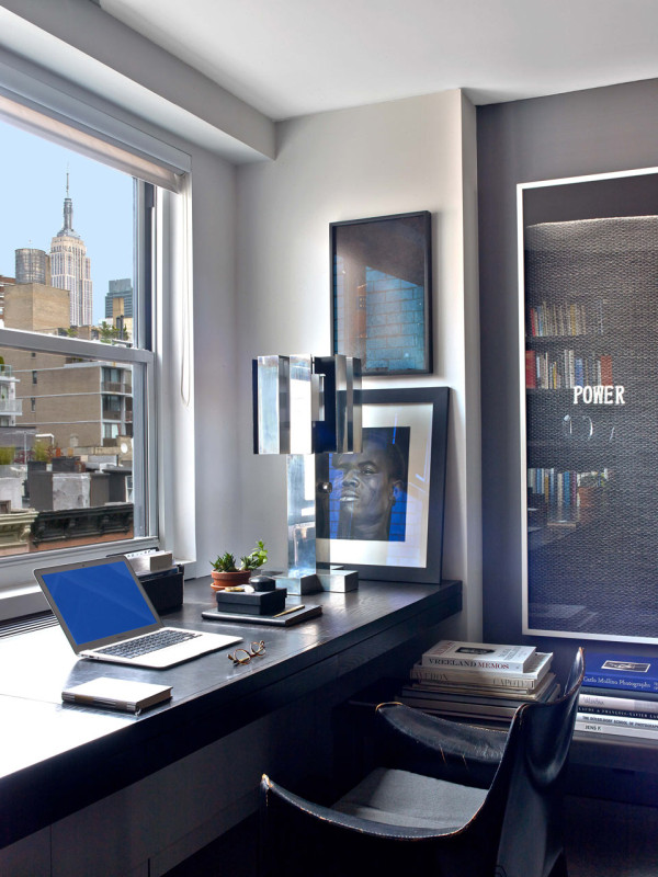 1960's NYC Apartment 1960's NYC Apartment Inspired by Tom Ford and Halston Dorsinville Residence Messana ORorke 8 600x800
