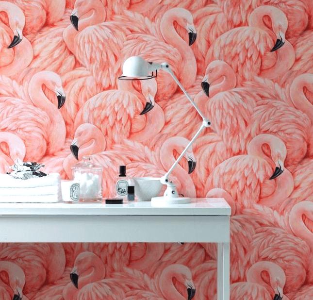 flamingo EXPLORING THE FLAMINGO INTERIORS TREND Screen Shot 2015 05 16 at 10