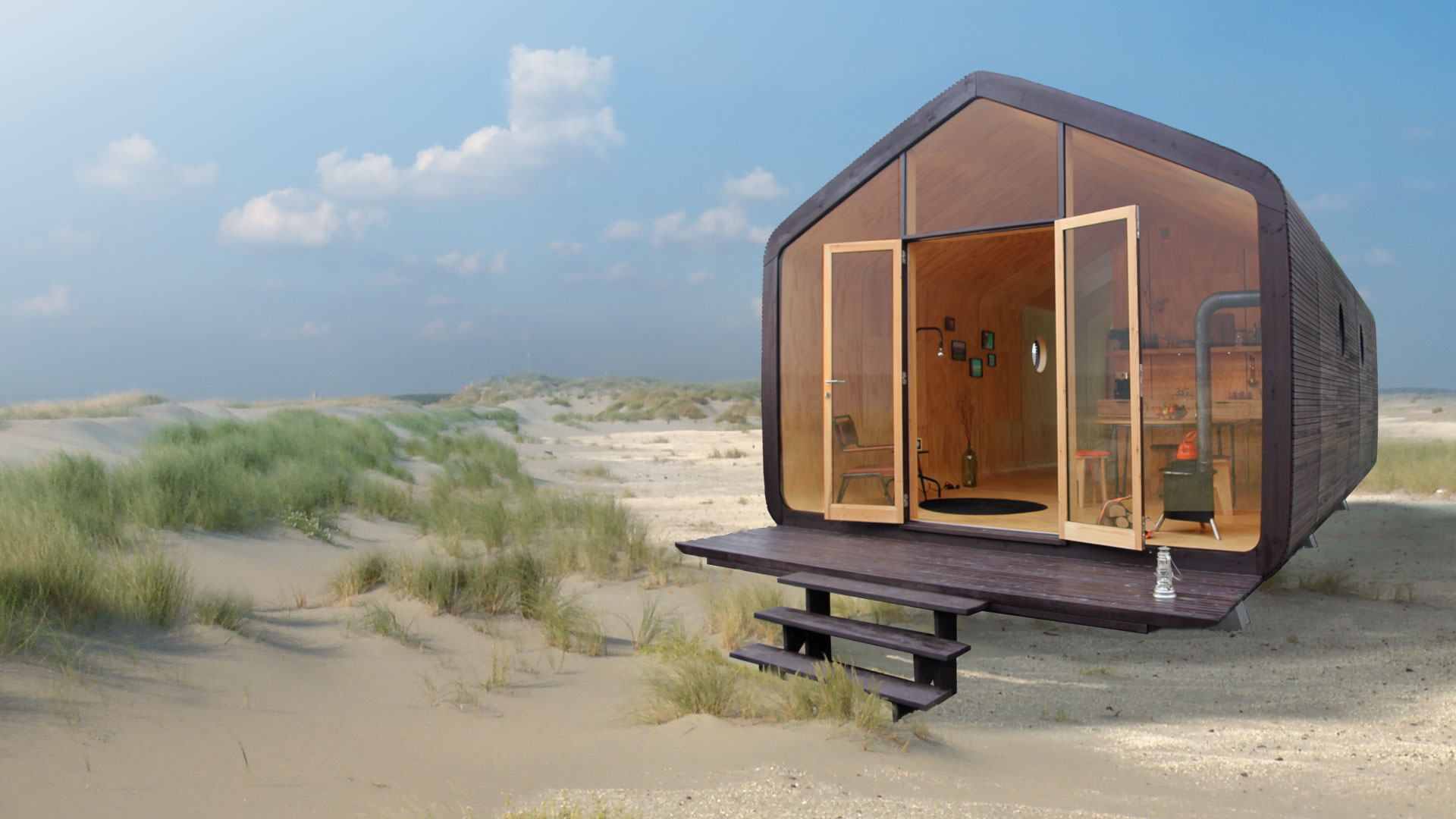 sustainable-wikkelhouse-3 Sustainable Sustainable cardboard house is ready in 24 hours and lasts 100 years Sustainable wikkelhouse 3