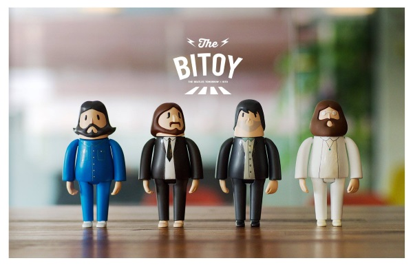 the beatles 3D printed dolls of The Beatles The Beatles