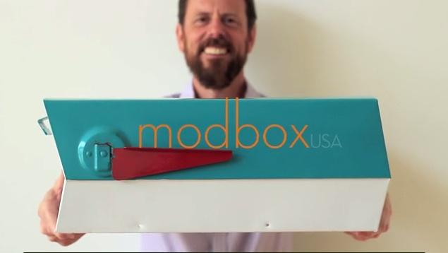 modbox MODBOX: MID-CENTURY MODERN MAILBOXES BY GREG KELLY modbox 1