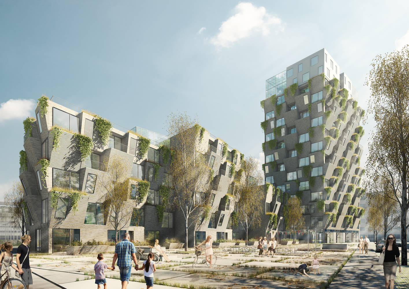 Studio LOKAL wins Copenhagen competition with residential towers Studio LOKAL Studio LOKAL wins Copenhagen competition with residential towers Studio LOKAL wins Copenhagen competition with residential towers 4