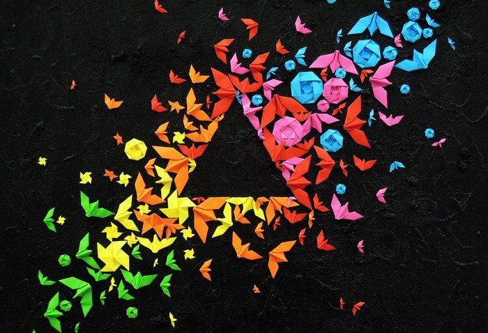 Street art: French artist colors the cities with origamis street art Street art: French artist colors the cities with origamis Street art French artist colors the cities with origamis 1
