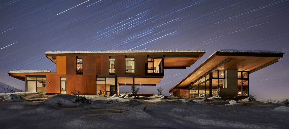 mid-century home BREATHTAKING MID-CENTURY HOME SITS ON GLACIAL VALLEY cover 8