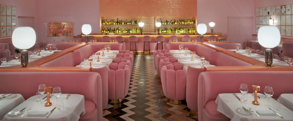 London Pink restaurant in London The Gallery India Madhavi David Shrigley Sketch 002 12628 1