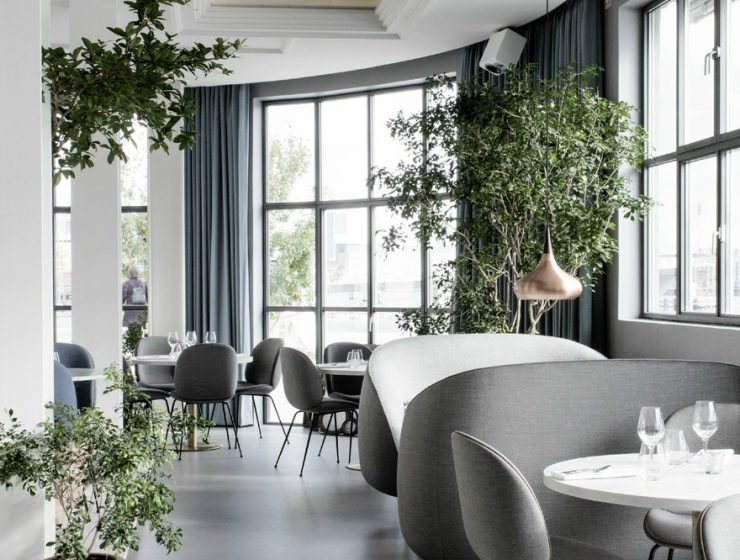 Restaurant Restaurant in Copenhagen by the design of GamFratesi Restaurant The Standard in Copenhagen 164378 740x560