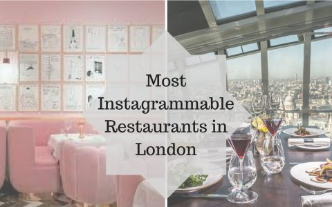 instagrammable The 5 Most Instagrammable Restaurants in London The 5 Most instagrammable Restaurants in London capa 480x300