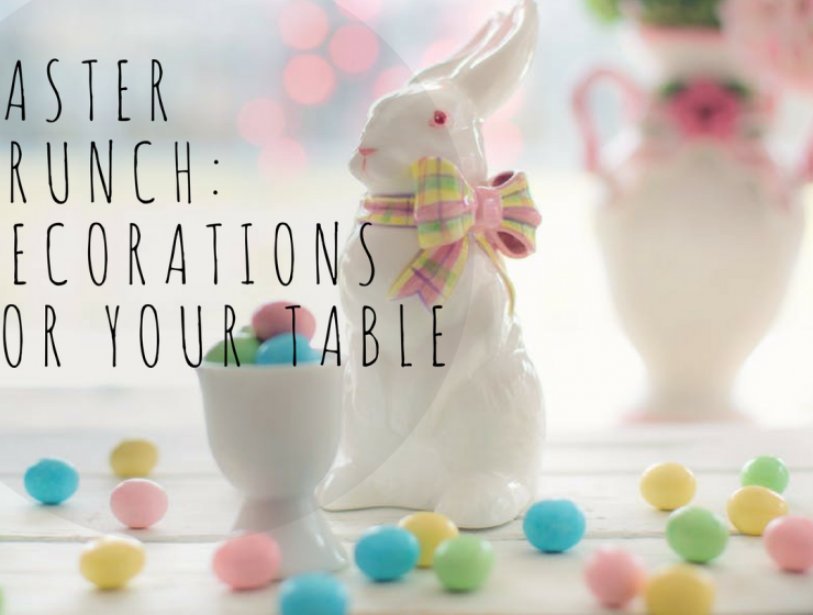 easter brunch Easter Brunch: How to Simply Decorate Your Table Easter brunch  decorations for your table 740x560
