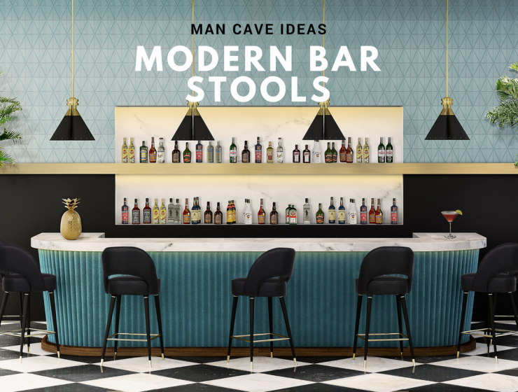 These Modern Bar Stools Will Upgrade Your Man Cave Decor!_FEAT modern bar stools These Modern Bar Stools Will Upgrade Your Man Cave Decor! These Modern Bar Stools Will Upgrade Your Man Cave Decor FEAT 740x560