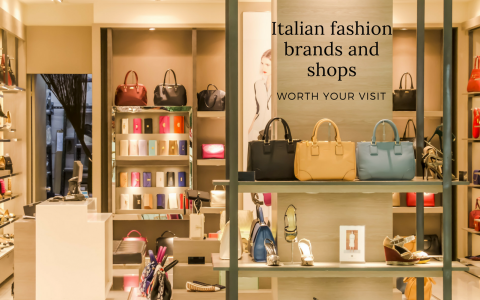8 Italian Fashion Brands & Stores You Have to Visit in Milan italian fashion brands 8 Italian Fashion Brands & Stores You Have to Visit in Milan Italian fashion brands and shops 480x300