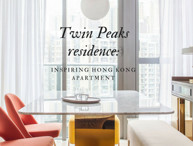The Colorful Tale of an Inspiring Hong Kong Apartment hong kong apartment The Colorful Tale of an Inspiring Hong Kong Apartment Twin Peaks residence  740x560