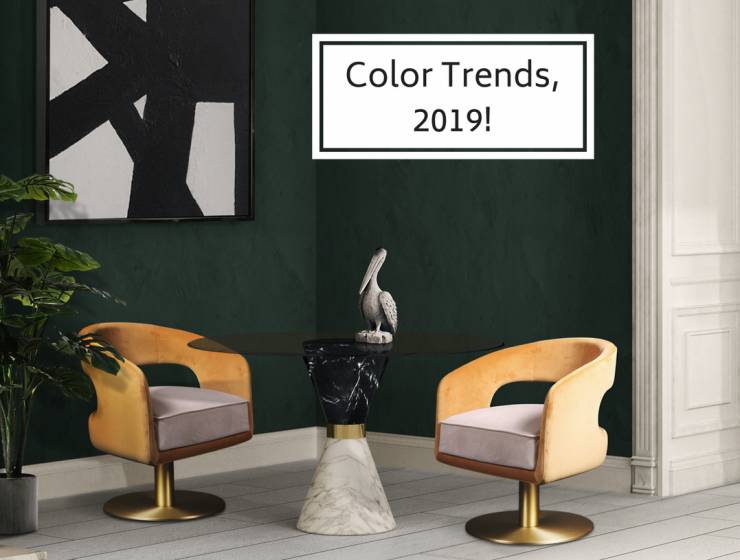 Color Trends for 2019! (1) home interior colors These Are the Home Interior Colors All Experts Are Betting for 2019 Color Trends for 2019 1 740x560