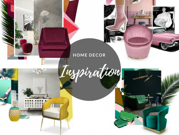 Home Decor Inspiration: 8 Mood Boards to Share w/ Your Decorator home decor inspiration Home Decor Inspiration: 8 Mood Boards to Share w/ Your Decorator Ice Cream Party 740x560