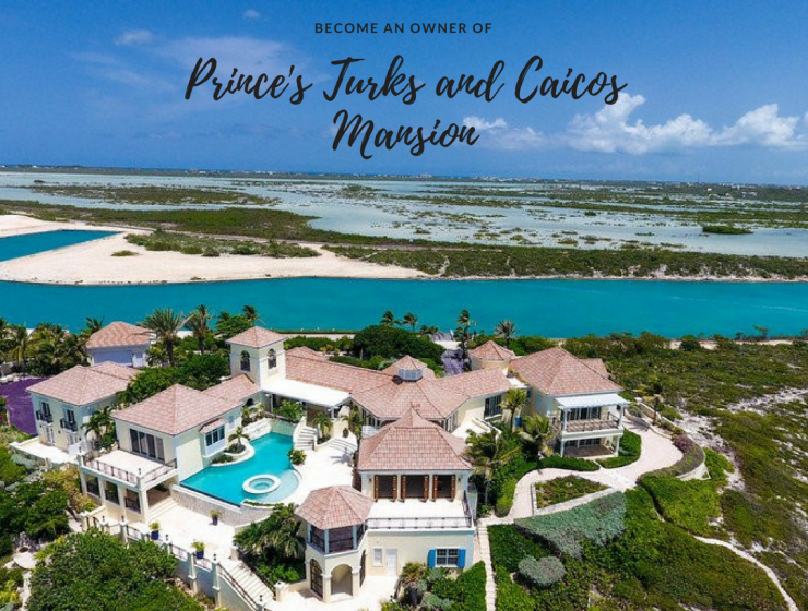 Celebrity Homes That Could Be Yours: Prince's Turks and Caicos Mansion celebrity homes Celebrity Homes That Could Be Yours: Prince's Turks and Caicos Mansion Youre invited to an 740x560
