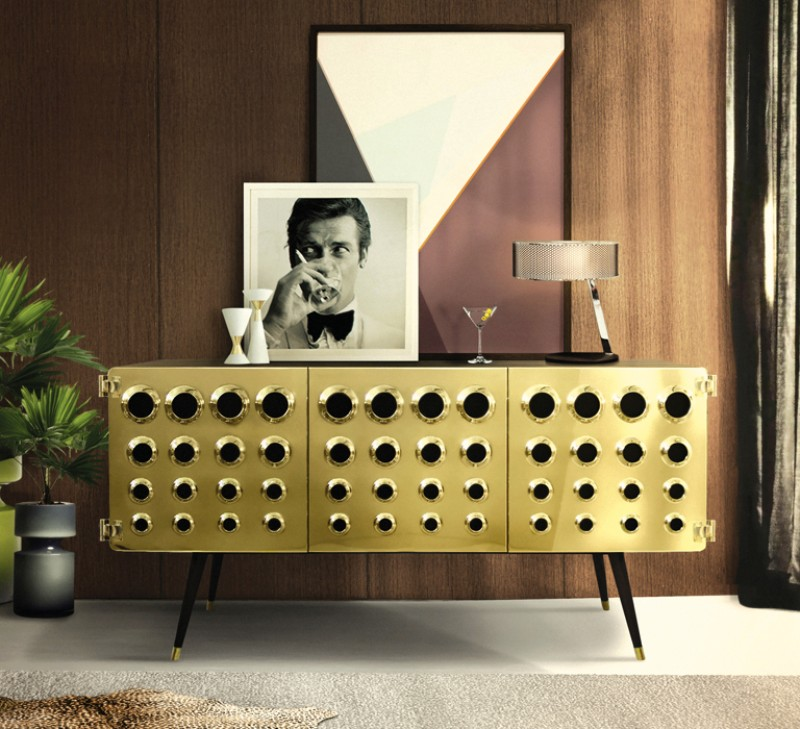 7 Decor Tips on How to Make Your New Flat Look Effortlessly Vintage mid-century The 5 Must-Have's In Mid-Century Furniture For 2020 monocles sideboard ambience 01