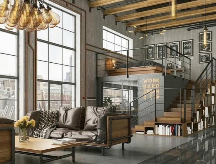 new york industrial lofts Get Inspired With These Incredible New York Industrial Lofts! Get Inspired With These Incredible New York Industrial Lofts 6 740x560