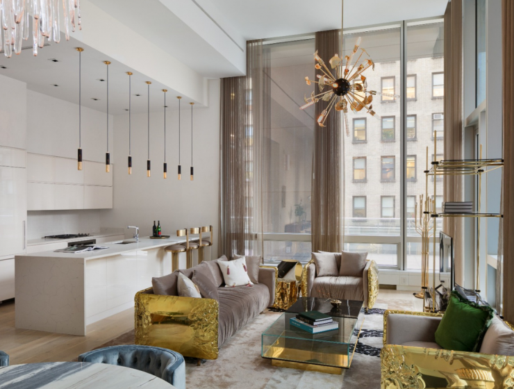 This Luxury Penthouse In NYC Comes To Life With A Stunning Refurnishing! luxury penthouse in nyc This Luxury Penthouse In NYC Comes To Life With A Stunning Refurnishing! Design sem nome 37 740x560