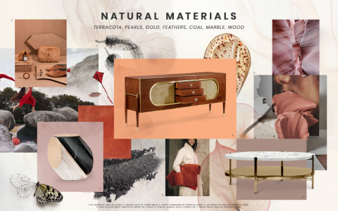 Moodboard Trends: Natural Materials natural materials Moodboard Trends: Natural Materials Inspirations cover 3 480x300