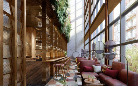 The Mid-Century Modern Vibe Of The Moxy Chelsea Hotel By Rockell Group_feat mid-century modern The Mid-Century Modern Vibe Of The Moxy Chelsea Hotel By Rockell Group The Mid Century Modern Vibe Of The Moxy Chelsea Hotel By Rockell Group feat 480x300