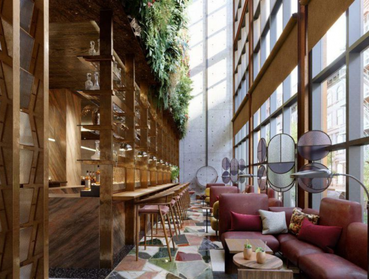 The Mid-Century Modern Vibe Of The Moxy Chelsea Hotel By Rockell Group_feat mid-century modern The Mid-Century Modern Vibe Of The Moxy Chelsea Hotel By Rockell Group The Mid Century Modern Vibe Of The Moxy Chelsea Hotel By Rockell Group feat 740x560
